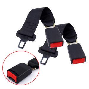 Universal Safety Seatbelt Extender Extension Car Seat Lap Belt* 2 pcs 14 inch