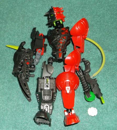 LEGO HERO FACTORY 6218 SPLITFACE complete figure FREE SHIPPING