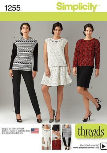 New Simplicity Sewing Pattern Knits and Knits Only Misses or Plus Sizes You Pick