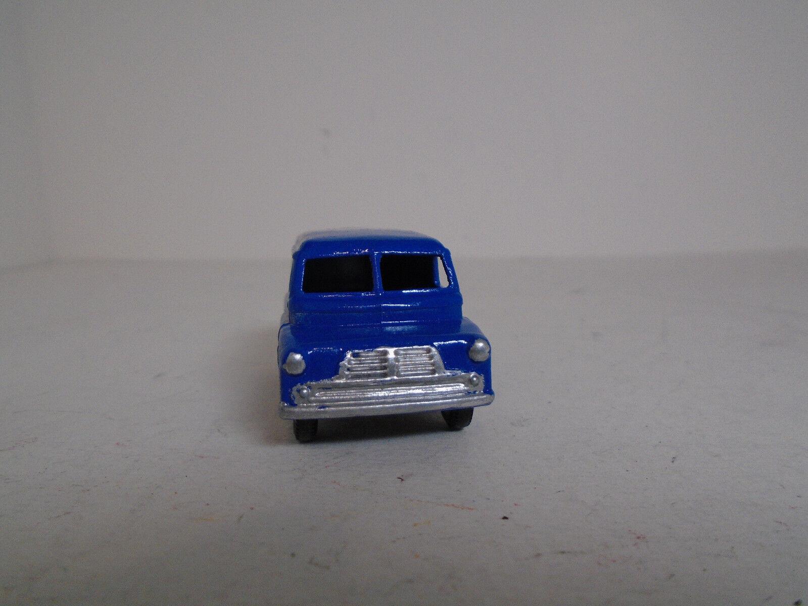 Lesney Matchbox  25A Bedford DUNLOP Van. RETorosso MODIFIED, RARE BPW EXCELLENT