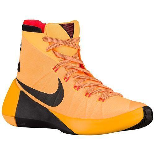 Nike Men\u0027s Hyperdunk 2015 Laser Orange/black/bright CRMSN Basketball Shoe  11 US | eBay
