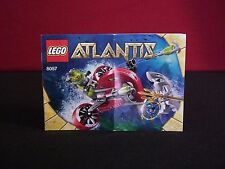 Lego # 8057 Atlantis Wreck Raider Instructions ONLY