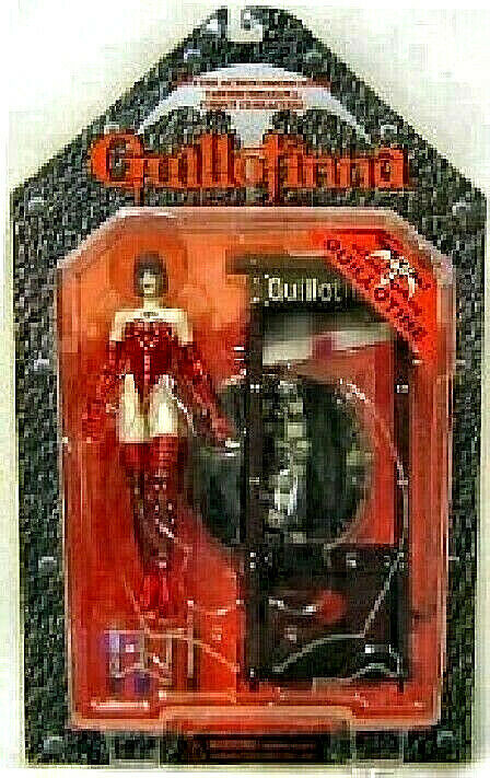 GUILLOTINNA rojo Version with Guillotine PVC Figura 16cm Fewture Models