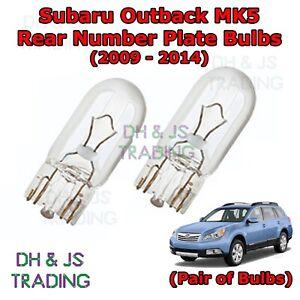 1x Fits Subaru Outback BL BP Xenon White Superlux LED Number Plate Light Bulb