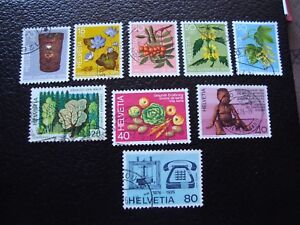 Switzerland-Stamp-Yvert-and-Tellier-N-994-A-1002-Obl-A2-P