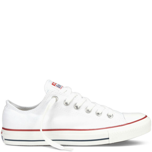 New Converse Chuck Taylor All Star Classic UK Size 13 Optical White M7652