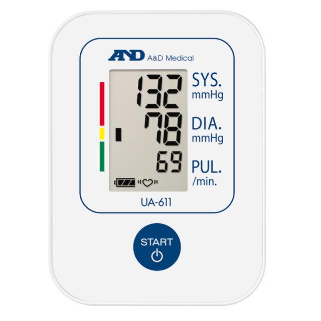 5  A&D Medical UA611 Digital Upper Arm Basic Blood Pressure Monitor 15 Memory