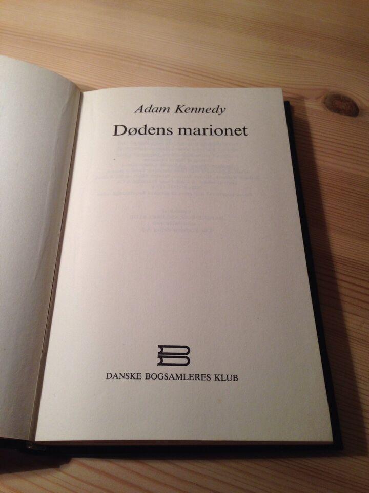 Dødens marionet, Adam Kennedy, genre: krimi og spænding