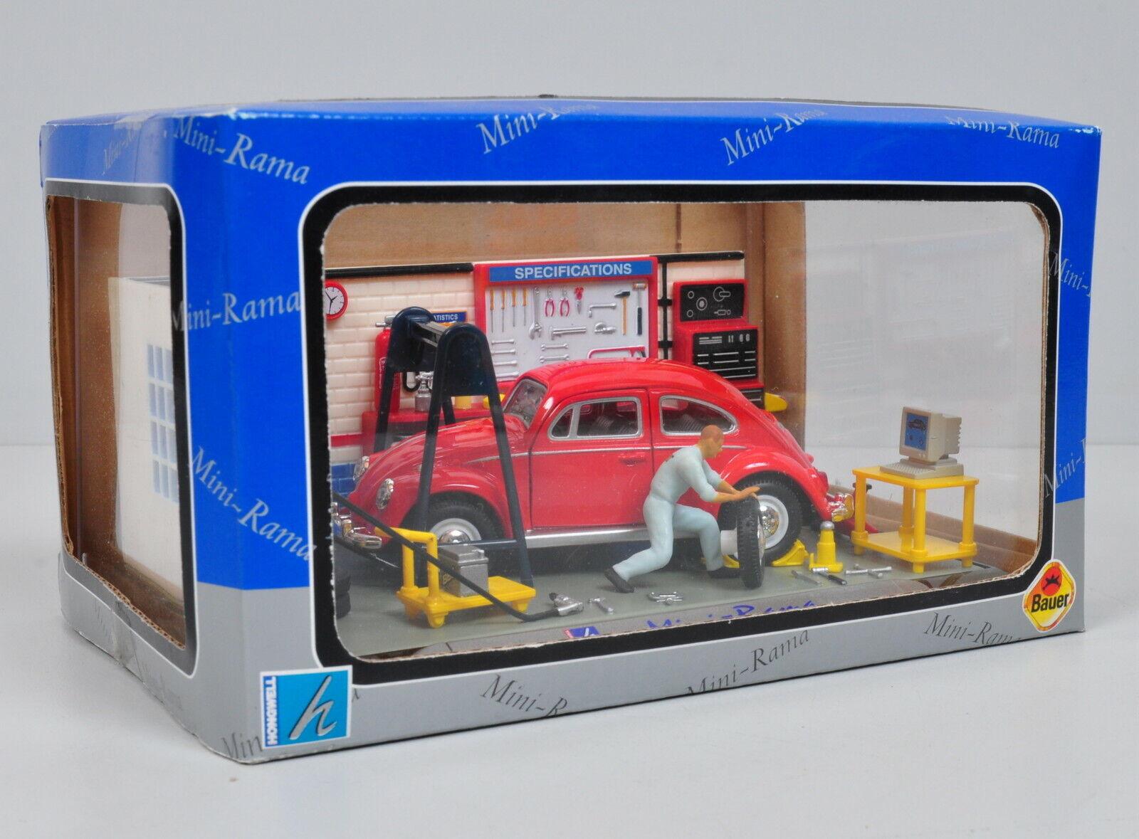 Schuco 02692-1//43 volkswagen//VW escarabajo con coche Porter-nuevo