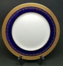 "Aynsley GEORGIAN COBALT SMOOTH 10 5/8"" Dinner Plate Bone China 7348 RETIRED"