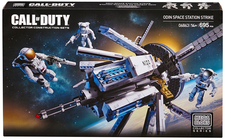 Mega Bloks Call of Duty ODIN Space Station Strike Collector Construction Set