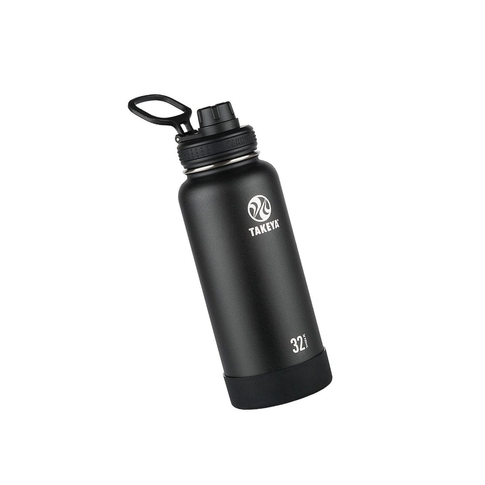 Takeya Actives Insulated Stainless Water Bottle with Insulated Spout Lid, 32o...