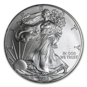 2010-American-Silver-Eagle-1-oz-Silver-Coin-Direct-From-Mint-Tube