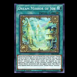 X3 YUGIOH DREAM MIRROR OF CHAOS CHIM-EN089 COMMON 1ST NM