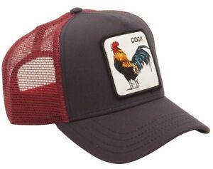 Goorin Bros. Animal Farm Trucker Snapback Baseball Hat Cock Rooster ... 51864bdb0fb