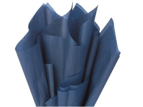 Marineblau Seidenpapier Laken 50cm X 75cm 18g//Qm 50.8cm X 76.2cm Säure Frei