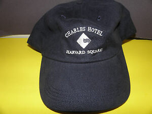 Image is loading Harvard-Square-CHARLES-HOTEL-LOGO-HAT-NWT 32c8993b3251