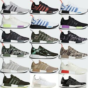 63bb78efb8d36 adidas Originals NMD R1 Men s Shoes Comfy Lifestyle Running Sneakers ...