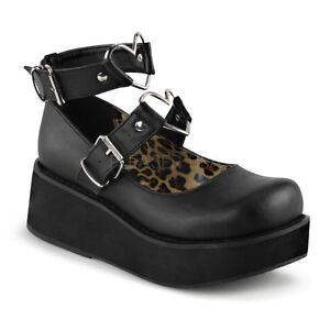 DEMONIA-Sprite-02-Black-Ankle-Strap-Goth-Punk-Rockabilly-Cyber-Platform-Shoes