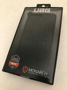 NEW UAG Monarch iPhone 8+/7+/6 PLUS Case BLACK Urban Armor Gear Gunmetal Dark