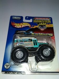 HOT-WHEELS-1-64-MONSTER-JAM-Surf-Monster-10-metal-base-new