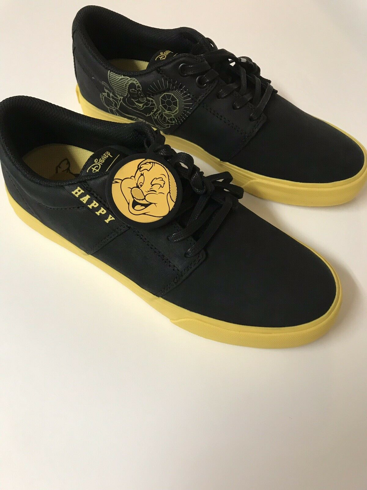 Zapatos Supra Disney Feliz blancoanieves Siete Enanos Talla 8 Moda Tenis