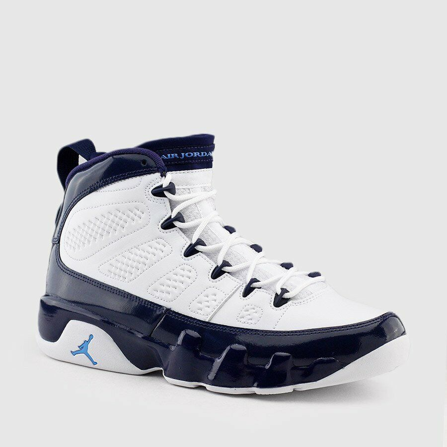 Air Jordan Retro IX 9 UNC University bluee Pearl Midnight Navy 302370-145