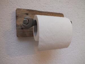 toilettenpapierhalter klopapierhalter rustikal industrie. Black Bedroom Furniture Sets. Home Design Ideas