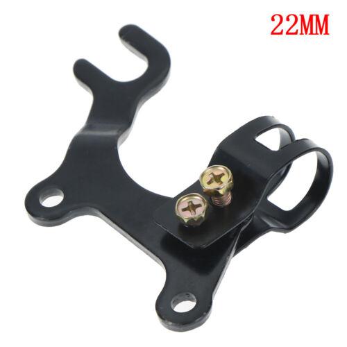 Adjustable black bicycle bike disc brake bracket frame adaptor mounting holderES