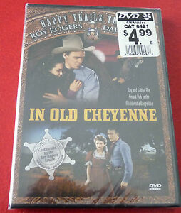 New-DVD-Movie-Western-Classics-In-Old-Cheyenne-1941-Original-Version