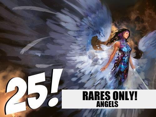 Angel Lot MTG Magic! 25 Random RARE Angels