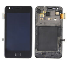 Black LCD Display Touch Screen Digitizer with Frame For Samsung Galaxy S2 i9100