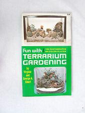 Lot of 3 VTG Gardening Books Terrarium Gardening, Soils, & Grow Your Own Plants