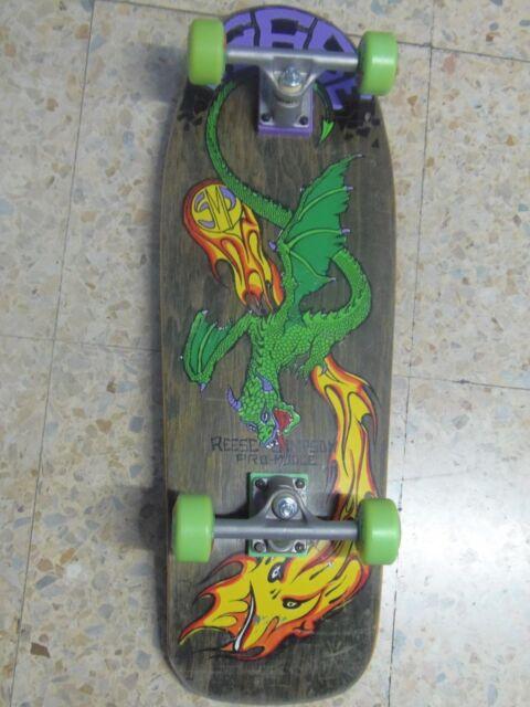 BBC REESE SIMPSOM PRO MODEL/MODLE SMP Skateboard Deck - GULLWING TRUCKS + WHEELS