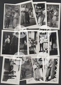 UNE-BELLE-GARCE-Gina-MANES-Cirque-GASTYNE-OURS-Dompteur-PATHE-13-Photos-1930