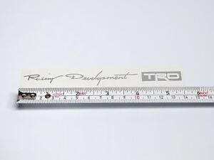 4X Racing Development TRD Car Door Handle Sticker Decal Tacoma Tundra Toyota