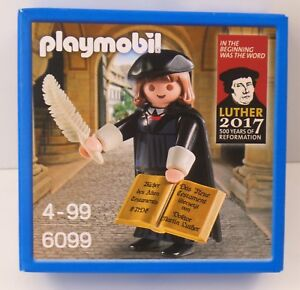Playmobil-6099-Martin-Luther-500-Jahre-Reformation-1517-2017-NEU-NEW-OVP
