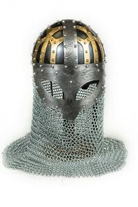 3-color-engraved-Spectacle-Viking-helmet-Larp-collectible-wearable