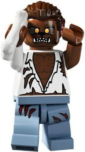 8804 Lego Minifigures Serie 4 Licantropo Werewolf Lupo Mannaro