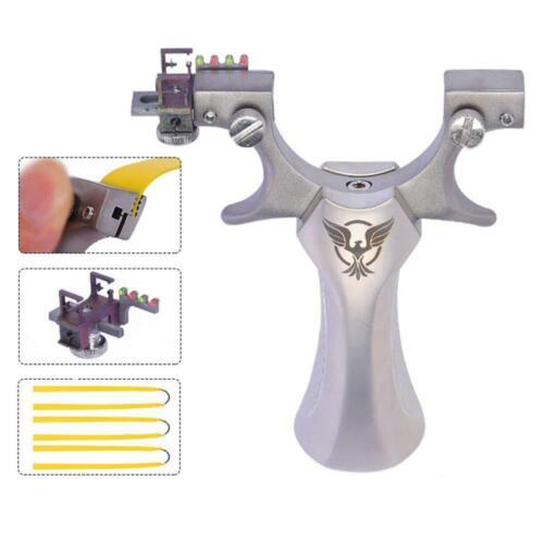 Steinschleuder wille Katapult Sportschleuder Lichtquelle 3 Schleuder Gummibänder