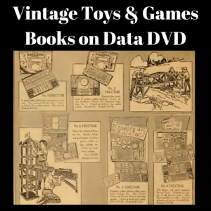 Details Zu Toys Games Puzzles Toy Catalogues 53 Vintage Rare Old Books On Data Dvd