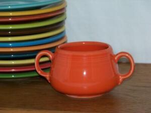 Fiesta-POPPY-Small-Sugar-Bowl-Figure-8-Sugar-Body