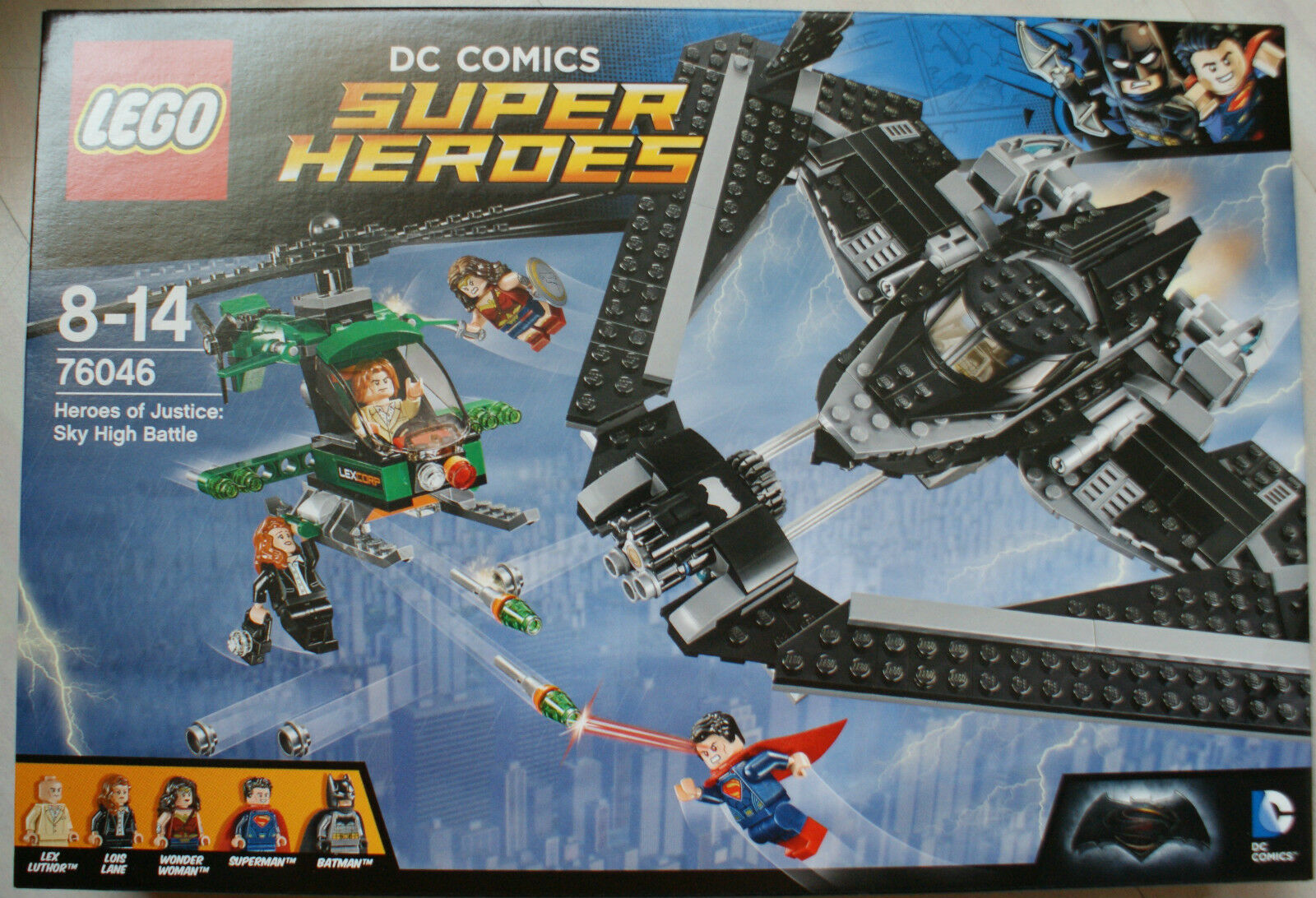 Lego - 76046 - DC Comics - Super Heroes - Sky High Battle  - NEU - OVP