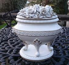 Splendido CONTINENTAL SPAGNOLA CASASUS PORCELLANA CERAMICA VASO Urna NEOCLASSICO ST
