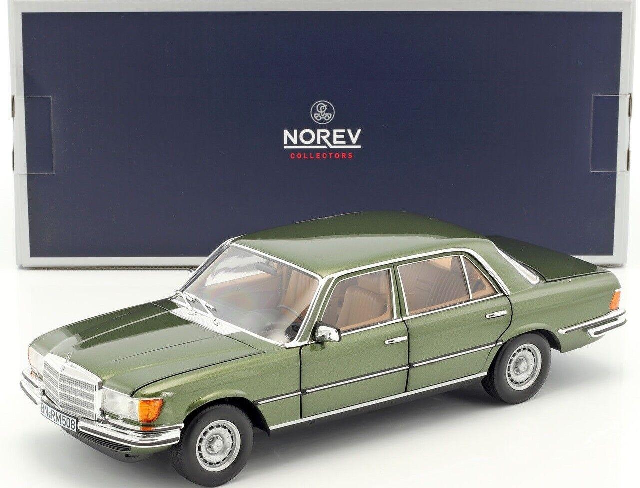 NOREV183455 - Voiture berline MERCEDES 450 SEL 6.9 couleur vert métallique de 19