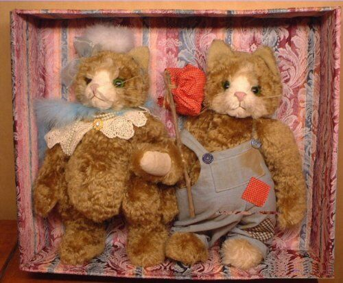 The Very First Pussycat Bears RARE German Mohair PussyCat Bears w autenticoity