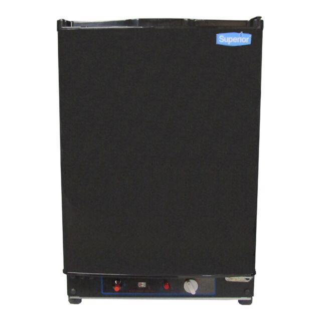 Propane Refrigerator For Sale >> Superior Sup 2b 2 Cu Ft Propane Lp Gas Refrigerator 3 Way Black