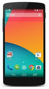 "New LG Google Nexus 5 Unlocked 5"" 16GB GSM 4G LTE Android Smart phone Black D820"