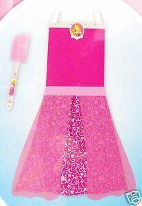 Disney-Princess-Pink-Apron-Dress-Up-Play-Set-Sleeping-Beauty-Aurora-2pc-New