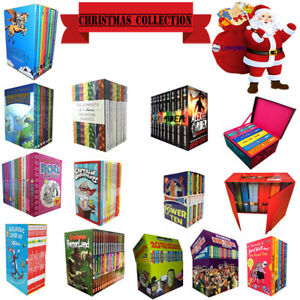Christmas-Collections-Including-Dr-suess-Wimpy-Kid-Dork-Diaries-David-Walliam